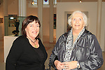 Brigid Robinson and Sheila Grennan in the Highlanes prior to the Sonata performance..Picture: Shane Maguire / www.newsfile.ie