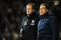 Scott Parker Manager of Fulham in action during the Sky Bet Championship match between Fulham and Swansea Citry at Craven Cottage in London, England, UK. Wednesday February 26, 2020.