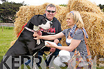 William and Kathleen Kelly with Cleopatra the Dog, which one best big dog at the Dog Show on Sunday during the Fenit Seabreeze Festival on Sunday.