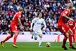 during the La Liga 2017-18 match between Real Madrid and Sevilla FC at Santiago Bernabeu Stadium on 09 December 2017 in Madrid, Spain. Photo by Diego Souto / Power Sport Images