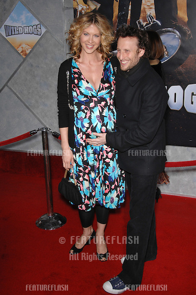 "Jenna Elfman & Bodhi Elfman at the world premiere of ""Wild Hogs"" at the El Capitan Theatre, Hollywood..February 28, 2007  Los Angeles, CA.Picture: Paul Smith / Featureflash"