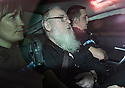 Angus Sinclair pictured on the 23rd Oct 2014 in the rear of an unmarked police vehicle after being taken from the High Court in Livingston to visit various locations in East Lothian relating to his trial. <br /> <br /> Angus Sinclair was found GUILTY (14th Nov 2014) at the High Court in Livingston of the murders of two teenagers, Helen Scott and Christine Eadie, who were last seen on a night out at the World's End pub on Edinburgh's Royal Mile Edinburgh in October 1977.