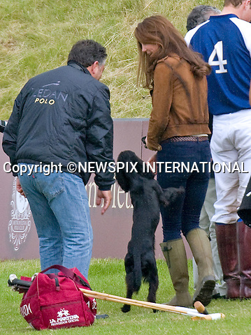 KATE SCRATCHED - IS LUPO IN THE DOGHOUSE ?<br /> When attending the bid to launch a British Team for the America's Cup the Duchessof Cambridge, displayed a large scratch across her left leg.<br /> The scratch which appears to be recent matches a paw scratch.<br /> Was the Duke and Duchess' beloved cocker spaniel reacting out of jealously with attention being given to Prince George as dog's are known for or was he just boisterous.<br /> <br /> <br /> KATE HAS FAMILY DAY WITH PRINCES WILLIAM AND HARRY AT POLO<br /> Catherine, Duchess of Cambridge joined Princes William and Harry extended family at the Polo.<br /> They included Zara Phillips and husband Mike Tindall, Peter Phillips, Autumn and children Savannah and Isla.<br /> Kate and William also brought along their new puppy Lupo to the event.<br /> The Princes were playing in a charity polo match at Beaufort, Gloucestershire_17/06/2012<br /> Mandatory Credit Photo: &copy;NEWSPIX INTERNATIONAL<br /> <br /> **ALL FEES PAYABLE TO: &quot;NEWSPIX INTERNATIONAL&quot;**<br /> <br /> IMMEDIATE CONFIRMATION OF USAGE REQUIRED:<br /> Newspix International, 31 Chinnery Hill, Bishop's Stortford, ENGLAND CM23 3PS<br /> Tel:+441279 324672  ; Fax: +441279656877<br /> Mobile:  07775681153<br /> e-mail: info@newspixinternational.co.uk