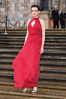 "Emma Mackey<br /> arriving for the world premiere of ""Our Planet"" at the Natural History Museum, London<br /> <br /> ©Ash Knotek  D3491  04/04/2019"
