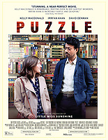 Puzzle (2018)<br /> POSTER ART<br /> *Filmstill - Editorial Use Only*<br /> CAP/FB<br /> Image supplied by Capital Pictures