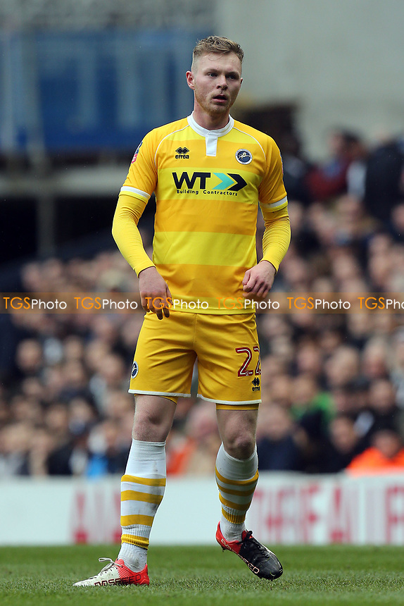 Aiden O'Brien of Millwall during Tottenham Hotspur vs Millwall, Emirates FA Cup Football at White Hart Lane on 12th March 2017