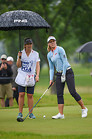 Brooke M. Henderson (CAN) looks over her tee shot on 12 during round 4 of the KPMG Women's PGA Championship, Hazeltine National, Chaska, Minnesota, USA. 6/23/2019.<br /> Picture: Golffile | Ken Murray<br /> <br /> <br /> All photo usage must carry mandatory copyright credit (© Golffile | Ken Murray)