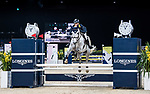 competes in the HKJC Junior Trophy during the Longines Masters of Hong Kong at AsiaWorld-Expo on 11 February 2018, in Hong Kong, Hong Kong. Photo by Diego Gonzalez / Power Sport Images