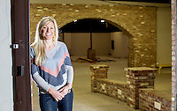 NWA Democrat-Gazette/JASON IVESTER --04/22/2015--<br /> April Seggebruch, co-founder of Movista; photographed on Wednesday, April 22, 2015, inside The Icehouse in downtown Bentonville for nwprofiles