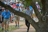 Jimmy Walker (USA) makes his way to the tee on 2 during day 2 of the Valero Texas Open, at the TPC San Antonio Oaks Course, San Antonio, Texas, USA. 4/5/2019.<br /> Picture: Golffile | Ken Murray<br /> <br /> <br /> All photo usage must carry mandatory copyright credit (&copy; Golffile | Ken Murray)