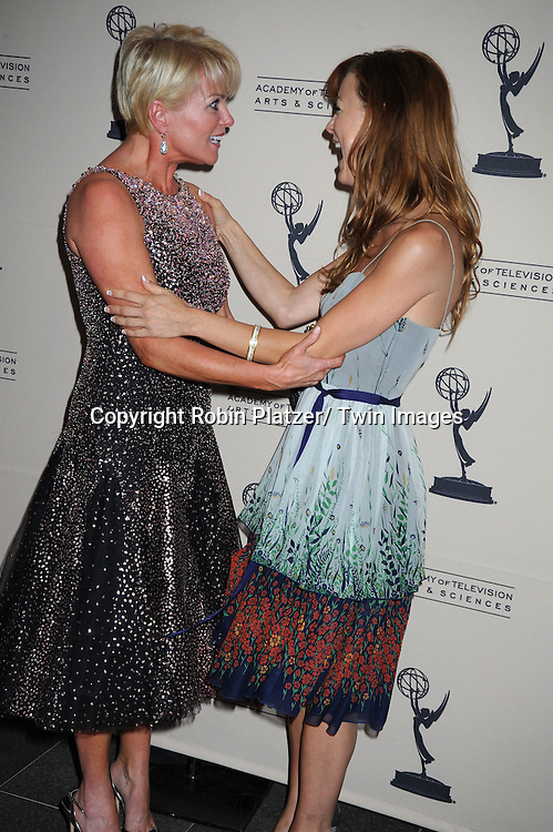 Judi Evans and Taylor Stanley attending  The TV Academy's Programming Peer Group cocktail Reception in honor of the 2010 nominees on June 24, 2010 at the SLS Hotel in Beverly Hills in California . .Robin Platzer/ Twin Images