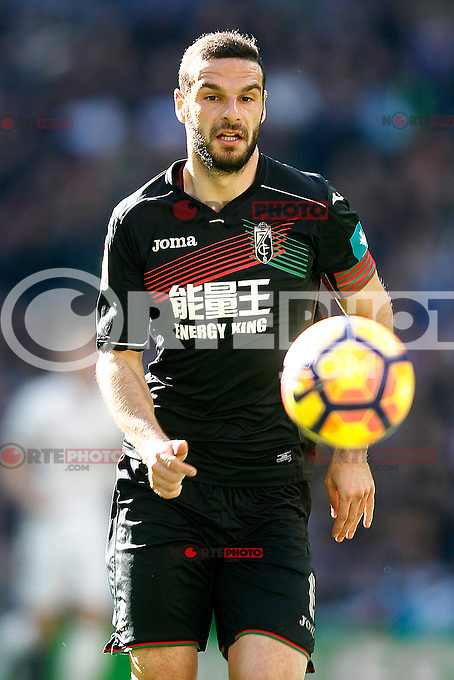 Granada CF's David Lomban during La Liga match. January 7,2016. (ALTERPHOTOS/Acero) . NORTEPHOTO.COM