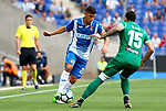 Javi Lopez in action during La Liga Game between RCD Espanyol agaisnt Leganes at RCDE Stadium