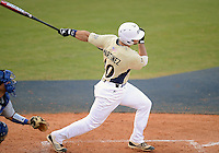 Florida International University infielder Mike Martinez (40) plays against Florida Gulf Coast University. FIU won the game 10-3 on March 28, 2012 at Miami, Florida.