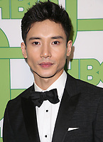 BEVERLY HILLS, CA - JANUARY 6: Manny Jacinto, at the HBO Post 2019 Golden Globe Party at Circa 55 in Beverly Hills, California on January 6, 2019. <br /> CAP/MPI/FS<br /> &copy;FS/MPI/Capital Pictures