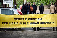 """17.04.2018 - """"Noi Non Archiviamo il Caso di Ilaria Alpi e Miran Hrovatin"""" - Italian Journalists Demo"""