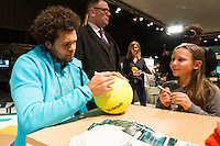 ABN AMRO World Tennis Tournament, Rotterdam, The Netherlands, 13 februari, 2017, Jo-Wilfried Tsonga (FRA)<br /> Photo: Henk Koster