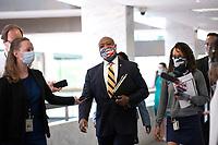 United States Senator Tim Scott (Republican of South Carolina) arrives to GOP policy luncheons on Capitol Hill in Washington D.C., U.S., on Tuesday, June 9, 2020.  Credit: Stefani Reynolds / CNP/AdMedia