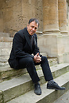 Anthony Horowitz outside the Sheldonian Theatre during the Sunday Times Oxford Literary Festival, UK, 16 - 24 March 2013.<br />