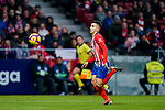 Angel Correa of Atletico de Madrid in action during the La Liga 2018-19 match between Atletico de Madrid and RCD Espanyol at Wanda Metropolitano on December 22 2018 in Madrid, Spain. Photo by Diego Souto / Power Sport Images