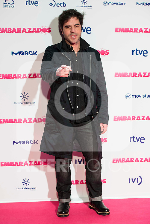 Ernesto Sevilla attends to the premiere of the film &quot;Embarazados&quot; at Capitol Cinemas in Madrid, January 27, 2016.<br /> (ALTERPHOTOS/BorjaB.Hojas)