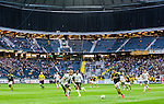 Solna 2015-04-26 Fotboll Allsvenskan AIK - &Ouml;rebro SK :  <br /> Vy &ouml;ver Friends Arena med publik och tomma l&auml;ktarsektioner under matchen mellan AIK och &Ouml;rebro SK <br /> (Foto: Kenta J&ouml;nsson) Nyckelord:  AIK Gnaget Friends Arena Allsvenskan &Ouml;rebro &Ouml;SK inomhus interi&ouml;r interior supporter fans publik supporters
