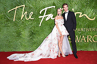 Poppy Delevingne and James Cook<br /> arriving for The Fashion Awards 2017 at the Royal Albert Hall, London<br /> <br /> <br /> &copy;Ash Knotek  D3356  04/12/2017
