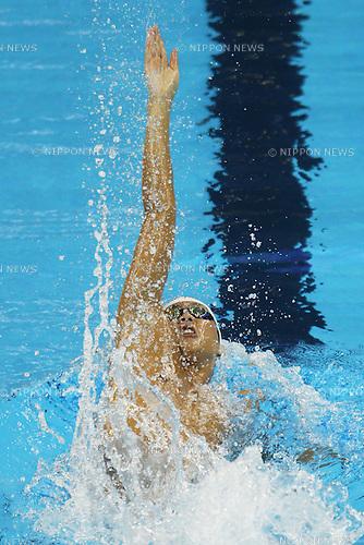 Junya Koga (JPN), July 25, 2011 - Swimming : 14th FINA World Championships Shanghai 2011, Men's 100m Backstroke Heat at Oriental Sports Center Indoor Stadium, Shanghai, China. (Photo by Daiju Kitamura/AFLO SPORT) [1045]