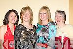 Geraldine Sheehy, Kate Mulvey, Mary Collier and Margaret Foley Killarney at the Killarney Mayor's ball in the Gleneagle Hotel, Killarney on Monday night