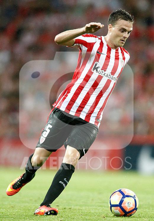 Athletic de Bilbao's Javi Eraso during La Liga match. August 28,2016. (ALTERPHOTOS/Acero)