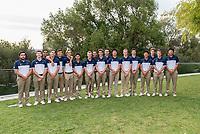 BERKELEY, CA - November 7, 2016: The Cal Bears 2016-2017 Men's Golf Team