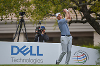 Jim Furyk (USA) watches his tee shot on 1 during day 3 of the WGC Dell Match Play, at the Austin Country Club, Austin, Texas, USA. 3/29/2019.<br /> Picture: Golffile | Ken Murray<br /> <br /> <br /> All photo usage must carry mandatory copyright credit (© Golffile | Ken Murray)