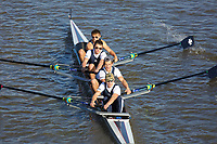 Crew: 158  SHR (B)  Shrewsbury School (H Fletcher)  4- Jun Champ<br /> <br /> Fours Head of the River 2018<br /> <br /> To purchase this photo, or to see pricing information for Prints and Downloads, click the blue 'Add to Cart' button at the top-right of the page.