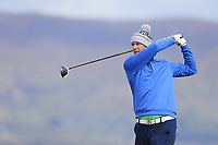 Fergal Kennedy (The Island) during the first round of matchplay at the 2018 West of Ireland, in Co Sligo Golf Club, Rosses Point, Sligo, Co Sligo, Ireland. 01/04/2018.<br /> Picture: Golffile | Fran Caffrey<br /> <br /> <br /> All photo usage must carry mandatory copyright credit (&copy; Golffile | Fran Caffrey)