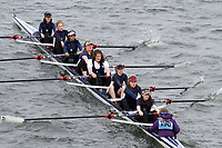 Crew: 198  Kings Sch Canterbury  Event: Girls School 1st eights<br /> <br /> Schools' Head of the River 2017<br /> <br /> To purchase this photo, or to see pricing information for Prints and Downloads, click the blue 'Add to Cart' button at the top-right of the page.