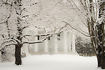 First Congregational Church, Madison, CT with fresh snow.