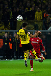 10.11.2018, Signal Iduna Park, Dortmund, GER, 1.FBL, Borussia Dortmund vs FC Bayern M&uuml;nchen, DFL REGULATIONS PROHIBIT ANY USE OF PHOTOGRAPHS AS IMAGE SEQUENCES AND/OR QUASI-VIDEO<br /> <br /> im Bild | picture shows:<br /> Mahmoud Dahoud (Borussia Dortmund #19) gegen Renato Sanches (Bayern #35), <br /> <br /> Foto &copy; nordphoto / Rauch