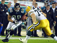 2001 NFL football season. (Photo by Brian Cleary/www.bcpix.com)