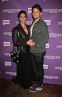 NEW YORK, NY - NOVEMBER 2:  Katie Maloney and Tom Schwartz pictured as BRAVO's 'Vanderpump Rules' cast at the kick-off of first ever 'VanderCrawl' bar crawl in New York, New York on November 2, 2016. Credit: Rainmaker Photo/MediaPunch