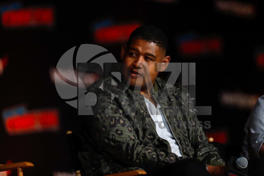 NOVA YORK, EUA, 05.10.2018 - COMIC-CON - Omar Miller durante a Comic Con no Jacob K. Javits Convention Center em Nova York nos Estados Unidos nesta sexta-feira, 05. (Foto: Vanessa Carvalho/Brazil Photo Press)