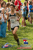 Lafayette junior Alec Haines took second in the Lafayette Randy Seagrist cross country invitational.