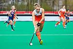 ROTTERDAM - Kyra Fortuin (Ned)   tijdens de Pro League hockeywedstrijd dames, Netherlands v USA (7-1)  .  COPYRIGHT  KOEN SUYK