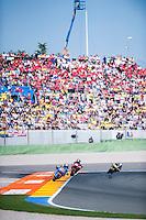 VALENCIA, SPAIN - NOVEMBER 8: Alex Marquez during Valencia MotoGP 2015 at Ricardo Tormo Circuit on November 8, 2015 in Valencia, Spain