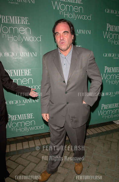 Director OLIVER STONE at Premiere Magazine's 7th Annual Women in Hollywood Luncheon at the Four Seasons Hotel, Beverly Hills..11OCT2000. © Paul Smith / Featureflash