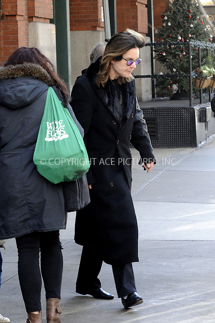 WWW.ACEPIXS.COM<br /> <br /> December 12 2014, New York City<br /> <br /> Musician Ozzy Osbourne leaves a downtown hotel on December 12 2014 in New York City<br /> <br /> By Line: Curtis Means/ACE Pictures<br /> <br /> <br /> ACE Pictures, Inc.<br /> tel: 646 769 0430<br /> Email: info@acepixs.com<br /> www.acepixs.com