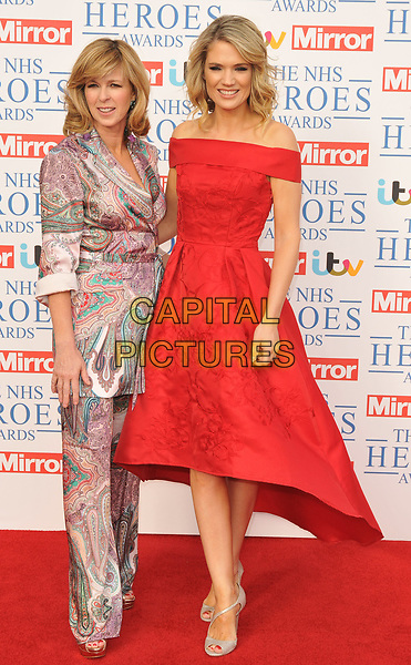 Kate Garraway and Charlotte Hawkins at the NHS Heroes Awards 2018, London Hilton on Park Lane Hotel, Park Lane, London, England, UK, on Monday 14 May 2018.<br /> CAP/CAN<br /> &copy;CAN/Capital Pictures