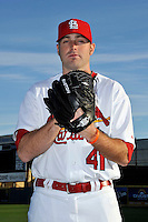 Mar 01, 2010; Jupiter, FL, USA; St. Louis Cardinals  pitcher Mitchell Boggs (41) during  photoday at Roger Dean Stadium. Mandatory Credit: Tomasso De Rosa/ Four Seam Images