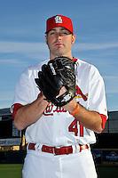 Mar 01, 2010; Jupiter, FL, USA; St. Louis Cardinals  pitcher Mitchell Boggs (41) during  photoday at Roger Dean Stadium. Mandatory Credit: Tomasso De Rosa/ Four Seam Images