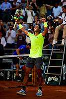 joie de Rafael Nadal (Esp) en fin de match<br /> Parigi 31/05/2019 Roland Garros <br /> Tennis Grande Slam 2019 <br /> Foto JB Autissier Panoramic / Insidefoto <br /> ITALY ONLY<br /> Parigi 31/05/2019 Roland Garros <br /> Tennis Grande Slam 2019 <br /> Foto JB Autissier Panoramic / Insidefoto <br /> ITALY ONLY