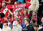 12.01.2018., Croatia, Zatika Sports Hall, Porec - European Handball Championship, Group B, 1st Round, France - Norway. Norwegian supporters. <br /> <br /> Foto &copy; nordphoto / Igor Kralj/PIXSELL